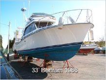 1986 Bertram 33 Flybridge Cruiser
