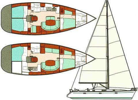 2000 Beneteau 411