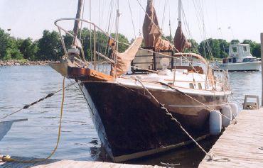 1977 Allied 36 Princess  Ketch