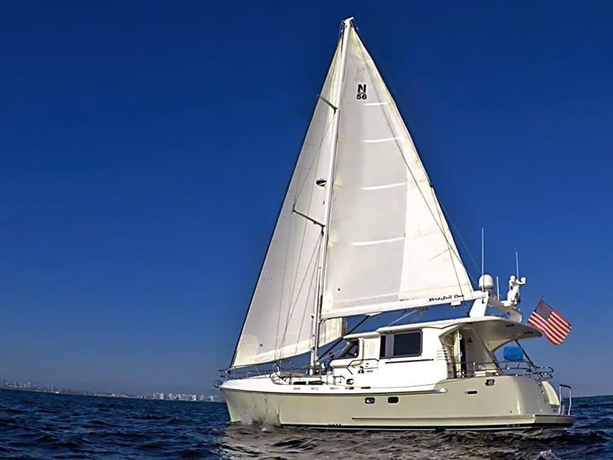 2009 Nordhavn Motorsailer 56' Sail Boat For Sale - www