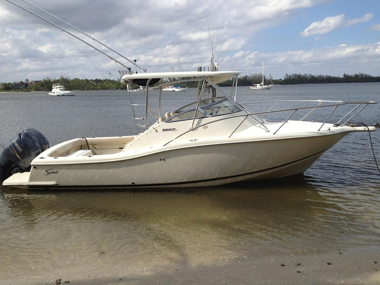 28 ft 2003 scout 280 abaco