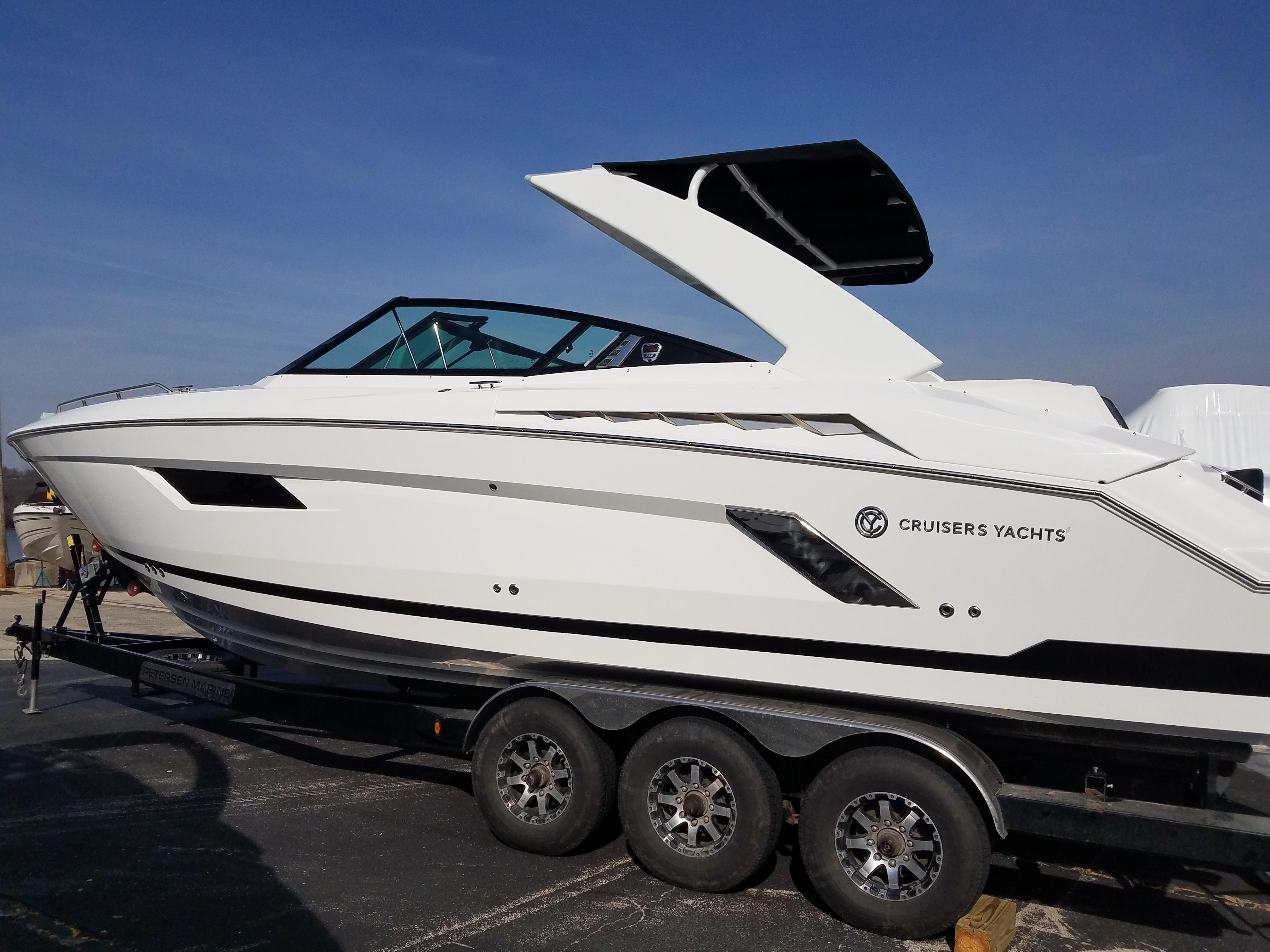 2018 Cruisers 338 Sport Series Power Boat For Sale Www