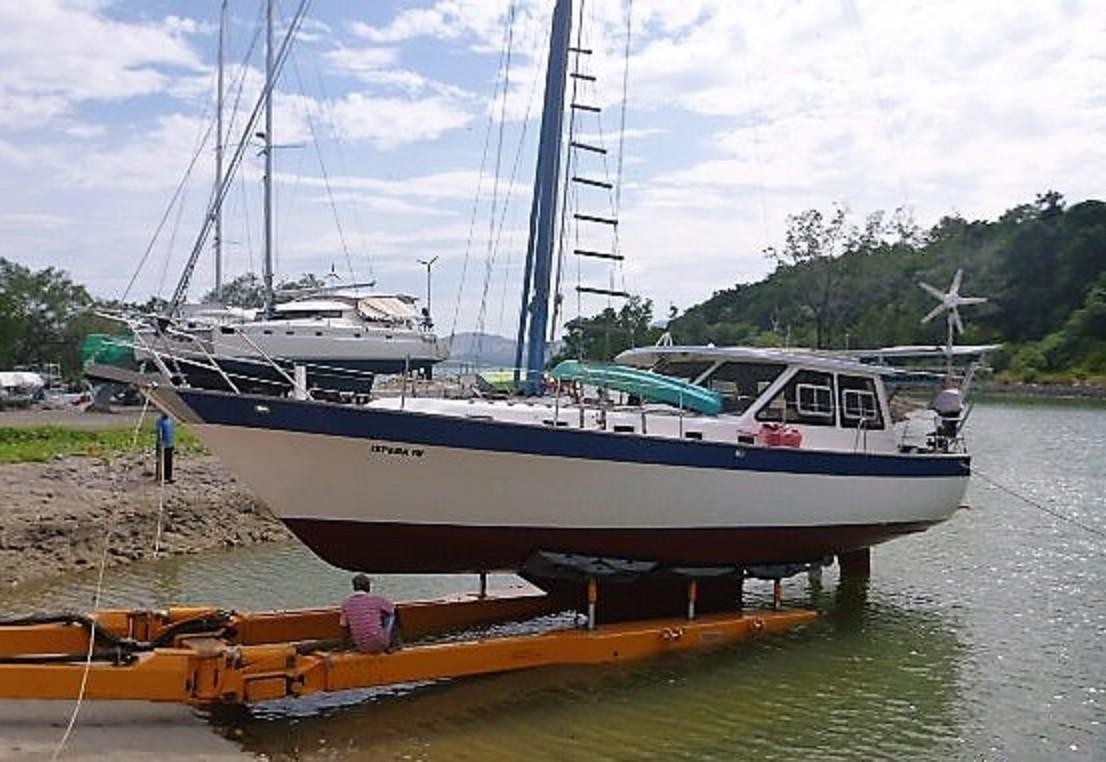 yacht lancer diagram yacht rigging diagram 1981 lancer 44 motorsailer sail boat for sale - www ...