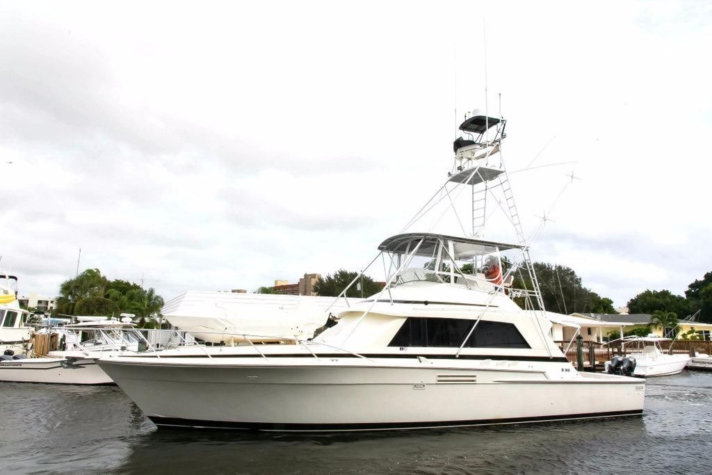 1986 bertram sport fish power boat for sale www for Sport fishing boats for sale by owner