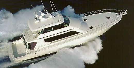 2003 Hatteras 82 Convertible