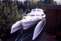 1990 Quorning Boat (dk) Dragonfly 800 SW