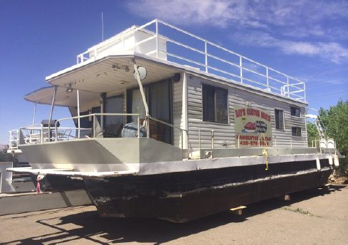 1977 Mastercraft 50 x 14 Pontoon Houseboat
