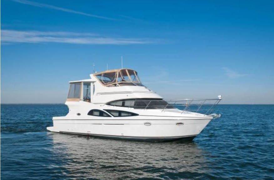 2007 carver 41 cockpit motor yacht power new and used for Klakring motor co annapolis