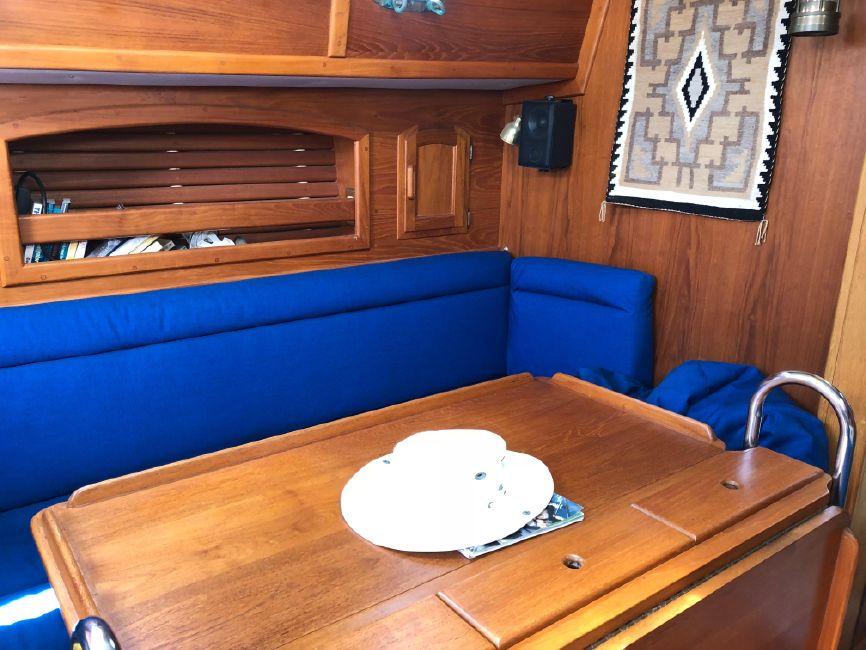 Pacific Seacraft 34 Salon Table