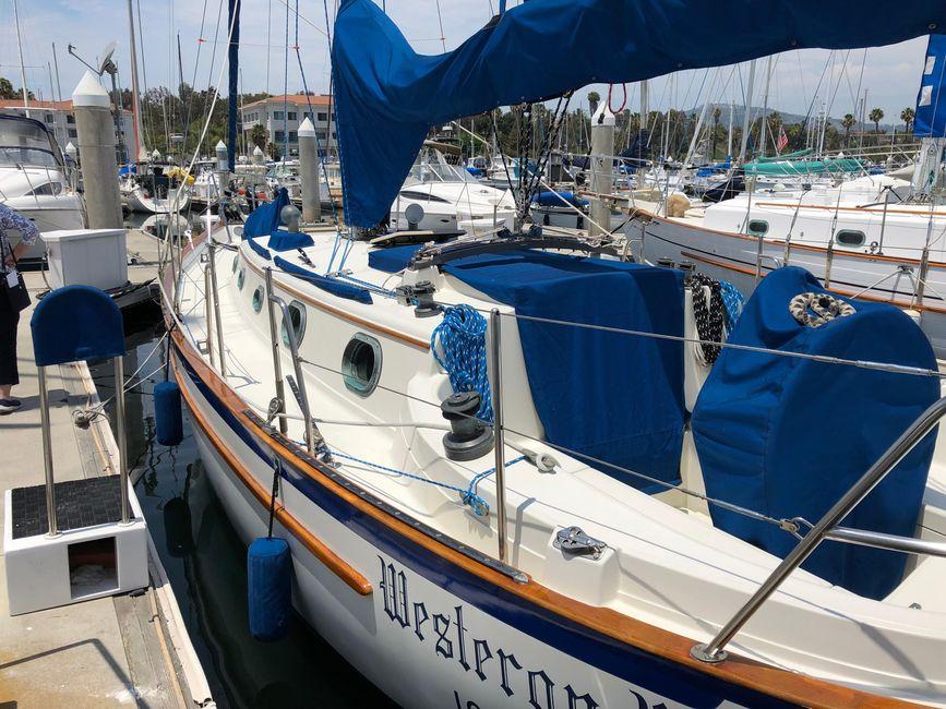 Pacific Seacraft 34 Sailboat for sale in San Pedro