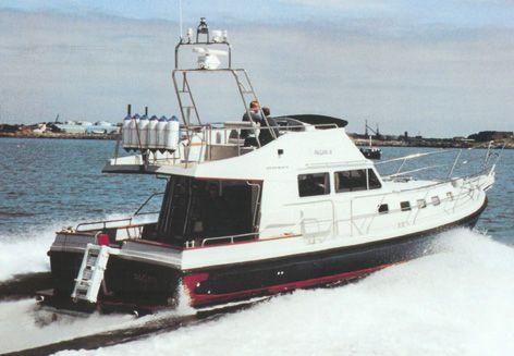 1995 Aqua-Star 43 Aft Cockpit