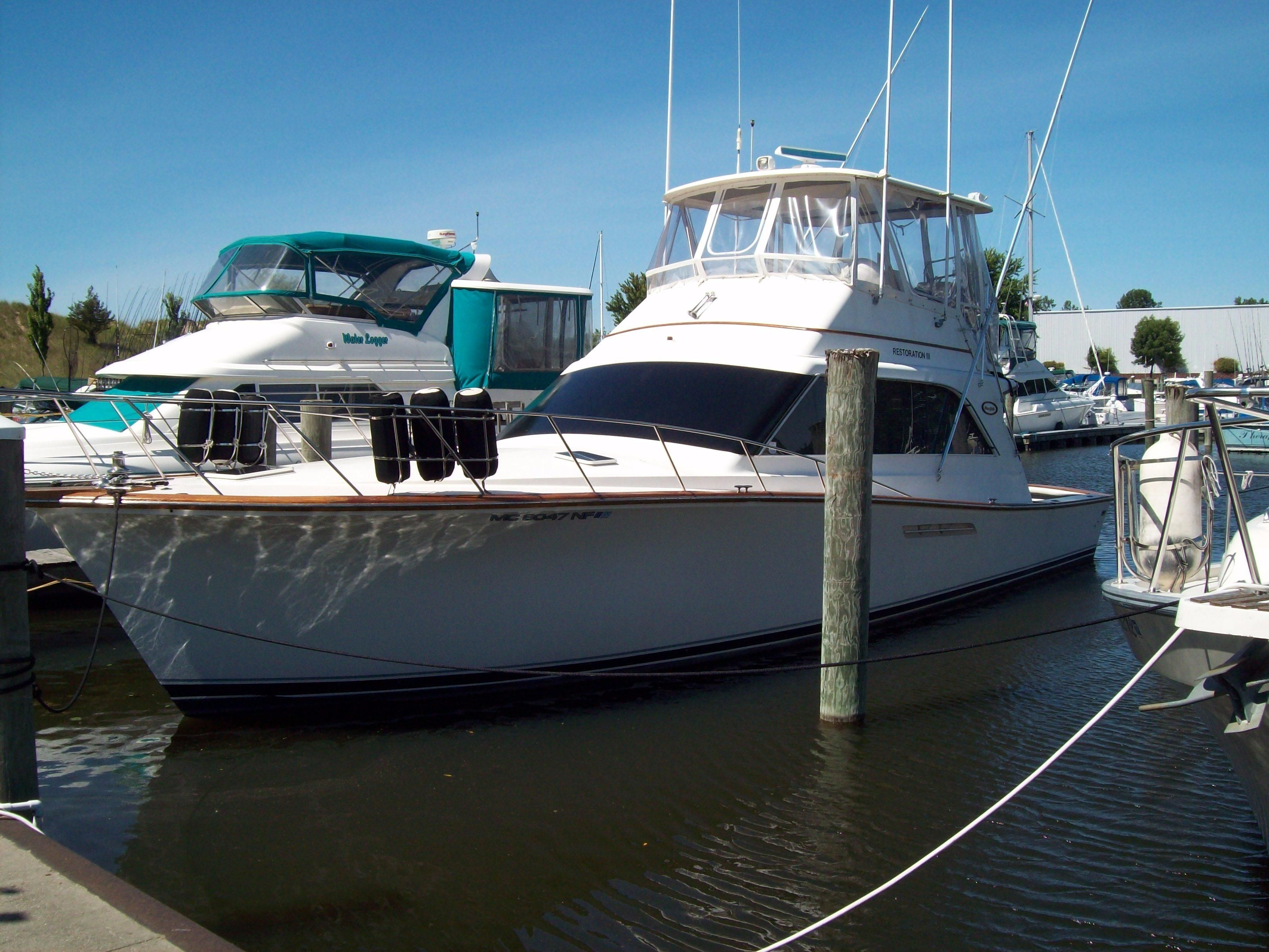 1987 ocean yachts 48 super sport power boat for sale www for Ocean yachts 48 motor yacht for sale