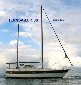 1976 Fiskars Finnsailer MS 38 Ketch