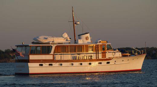 1957 Trumpy motor yacht