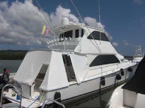 2007 Viking 64 Enclosed Bridge