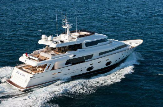 2011 Ferretti Yachts Navetta 33 Crescendo