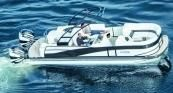 2015 Harris Flotebote 250 Grand Mariner SL