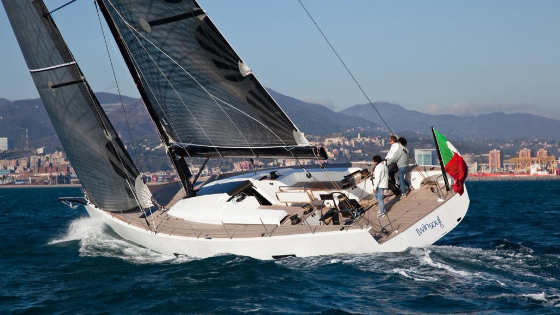 2011 Mylius 65 19e95 Vela Barca In Vendita Refit Active Single Mono Faucet