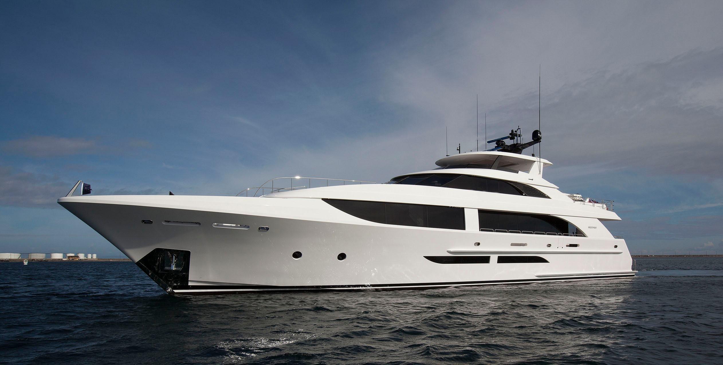 2020 Westport 125 38 Meter Power Boat For Sale Www Yachtworld Com