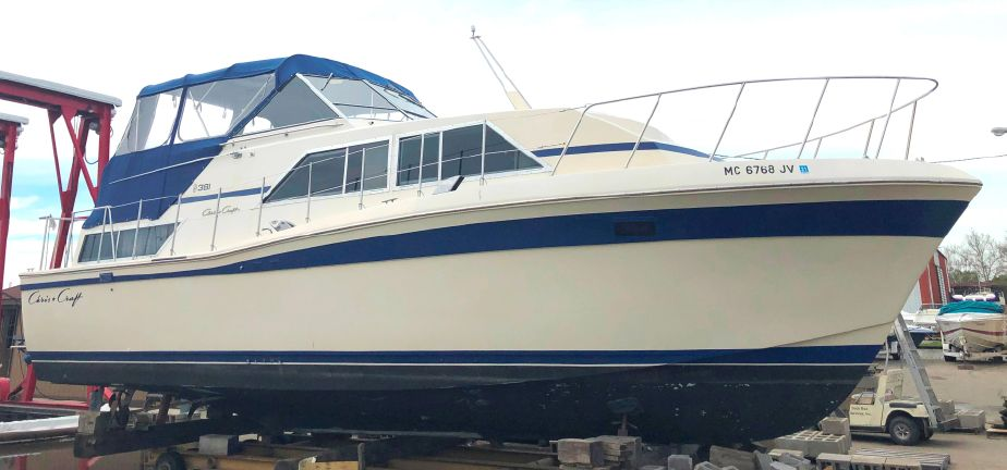 1980 Chris-Craft 381 Catalina Power Boat For Sale - www
