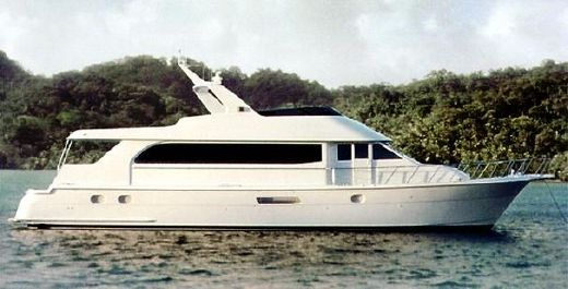 2003 Hatteras 75 Cockpit Motor Yacht