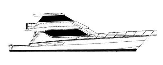 2000 Hatteras 65 Convertible