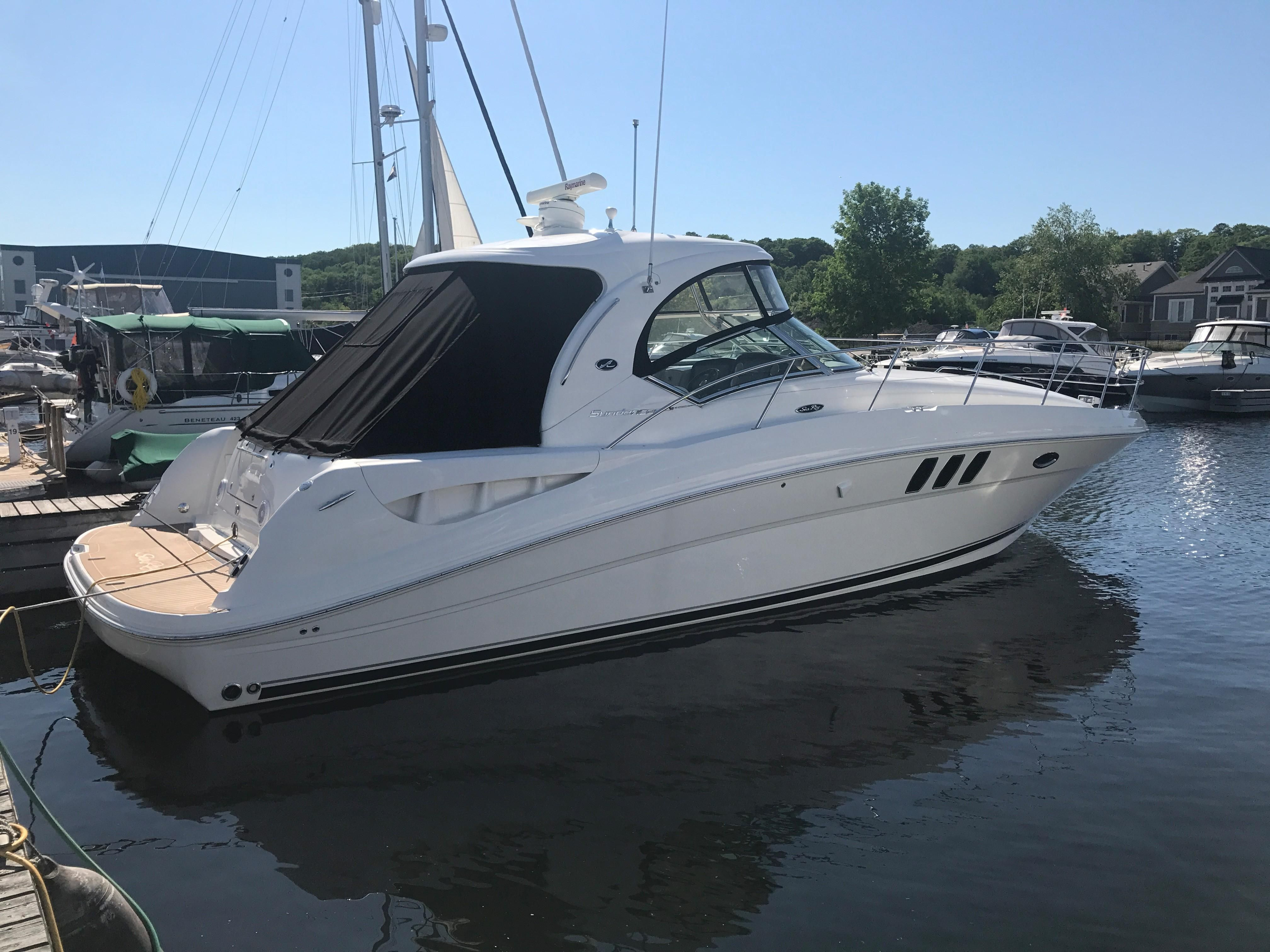 2009 sea ray 40 sundancer power boat for sale www for Sea ray boat motors