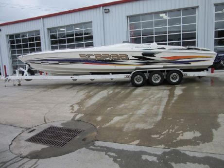 2001 Wellcraft Scarab 38AVS