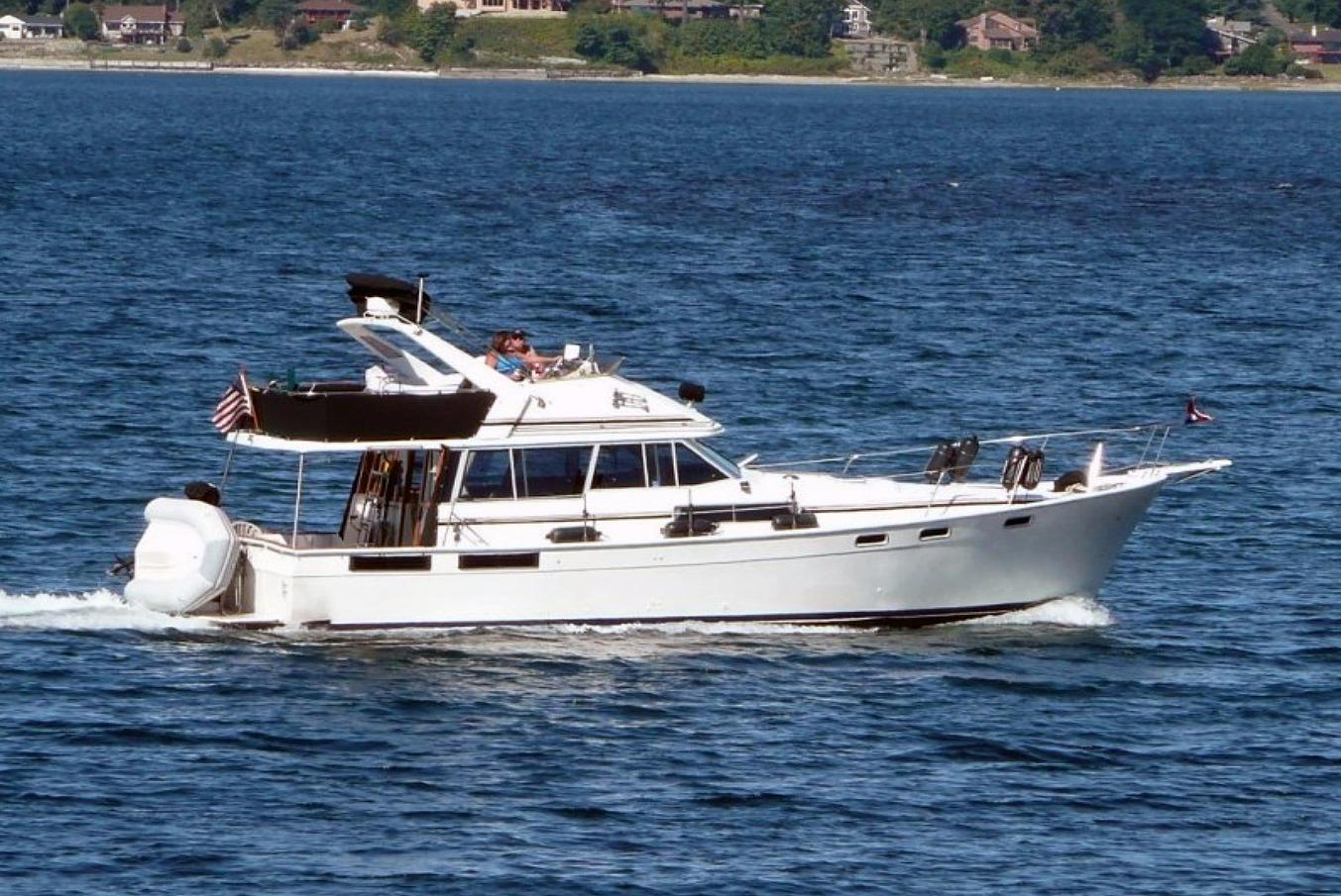 1987 Bayliner 3870 Motoryacht Power Boat For Sale Www