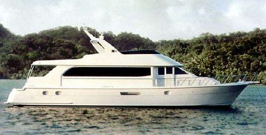 2000 Hatteras 75 Cockpit Motor Yacht
