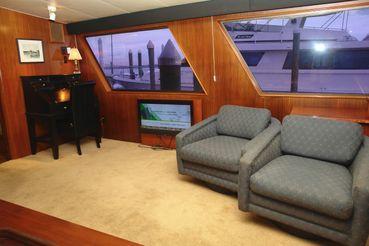 thumbnail photo 2: 1985 Hatteras 72 Motor Yacht