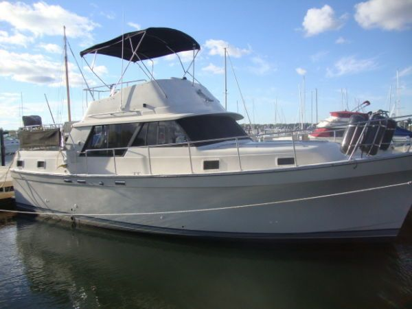 1988 Mainship 36 Double Cabin Power Boat For Sale Www
