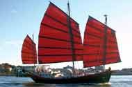 1977 Colvin steel adapted chinese junk