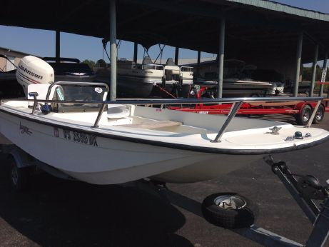 1990 Wahoo 15' side console