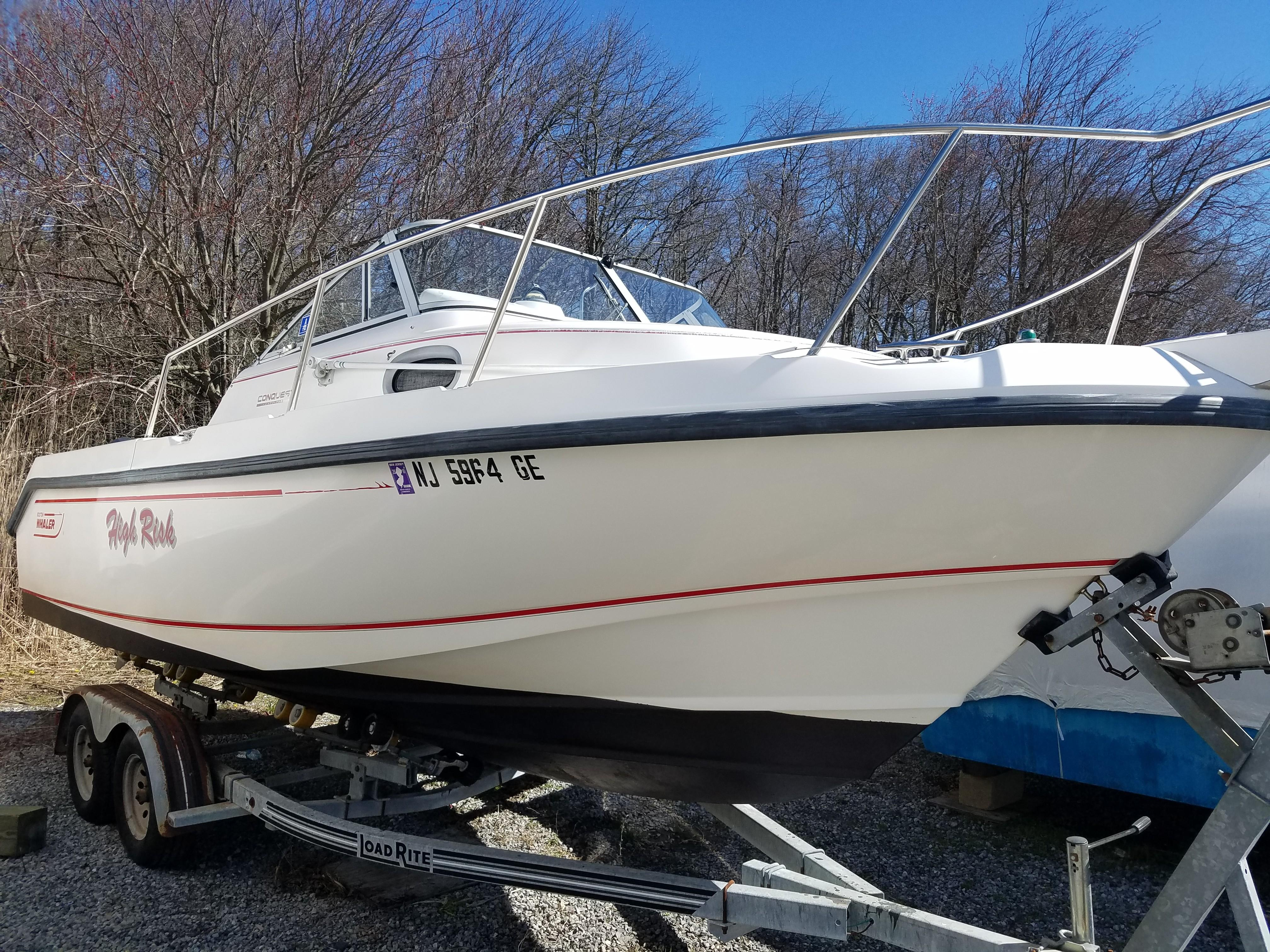 1997 Boston Whaler 23 Conquest Power New And Used Boats