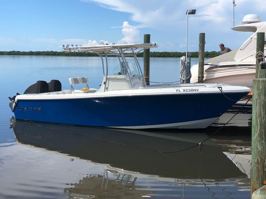 2009 sailfish 2360 cc
