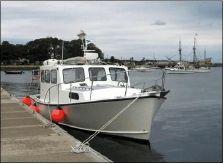 1996 Custom Five Islands Downeast Cruiser