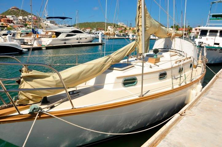 30' Cape Dory Cutter+Boat for sale!
