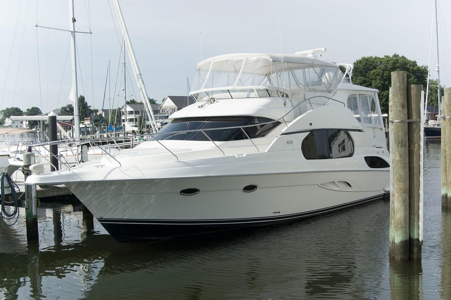 2001 Silverton 43 Motor Yacht Power Boat For Sale Www