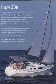 2003 Hunter 306