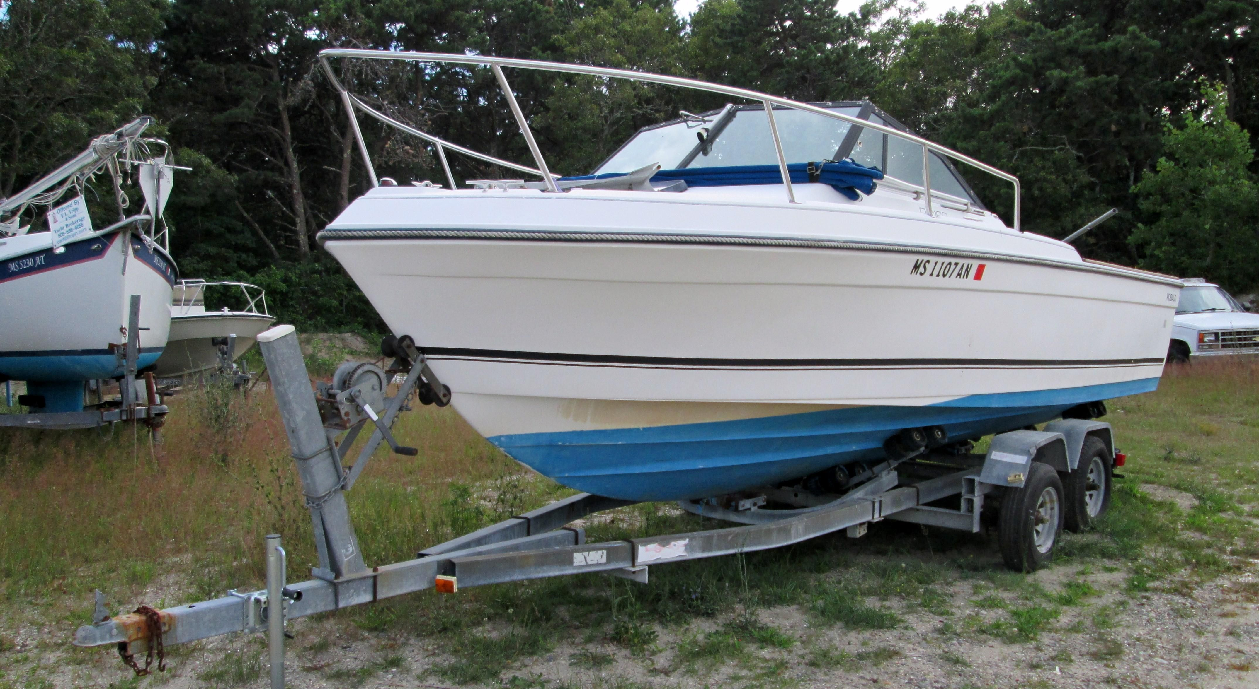 1986 robalo 2160 cuddy cabin power boat for sale www for Robalo fish in english