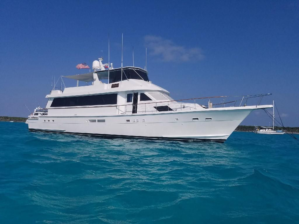 1989 hatteras cpmy power boat for sale for Electric motor repair fort lauderdale