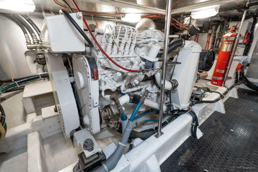Mckinna 57 Pilothouse Diesel Engine