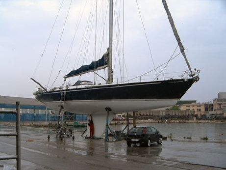 1982 German Frers Aluminium Sloop