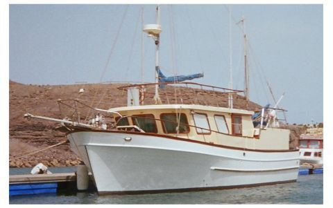 1980 Litton 12m Trawler Yacht