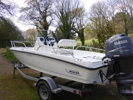 2010 Boston Whaler Dauntless 18