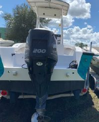 2007 Custom 23' Pumpout Boat