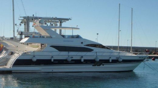 2008 Vitech Aquamarine 76 fly bridge