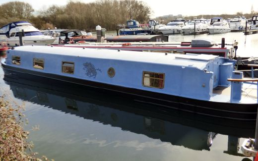 2008 Aqualine 60' X 10 Widebeam Narrowboat