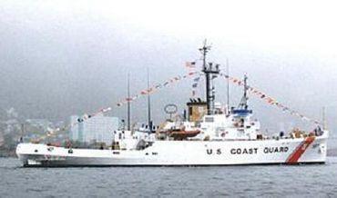1943 Us Navy Ex CG Cutter